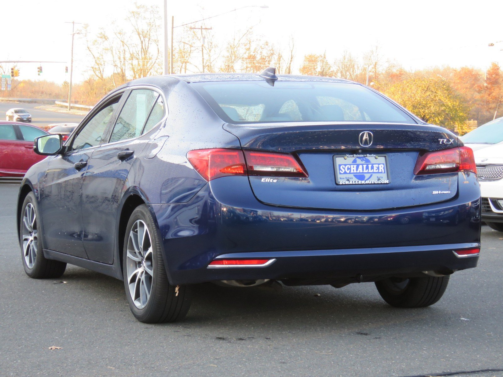 Pre Owned 2015 Acura TLX V6 Tech 4dr Car in New Britain HP