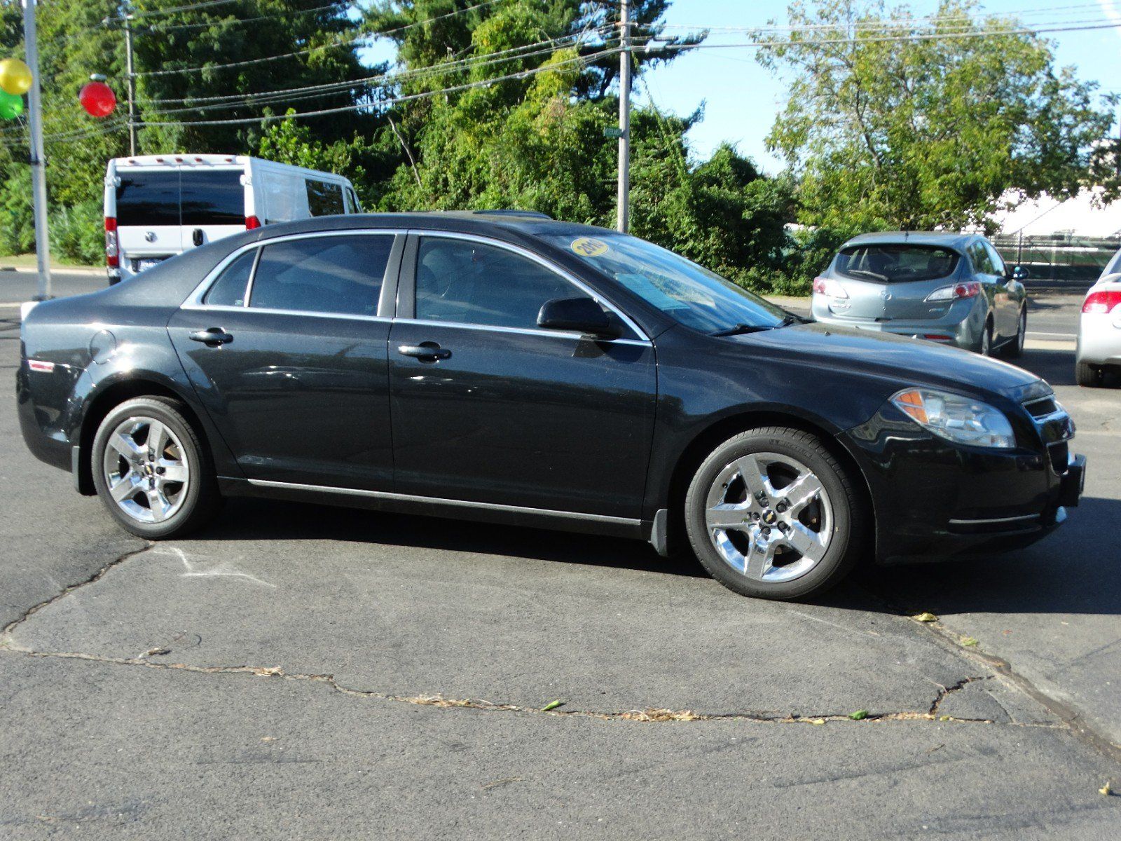 pre-owned 2010 chevrolet malibu lt with 1lt 4dr car in new britain