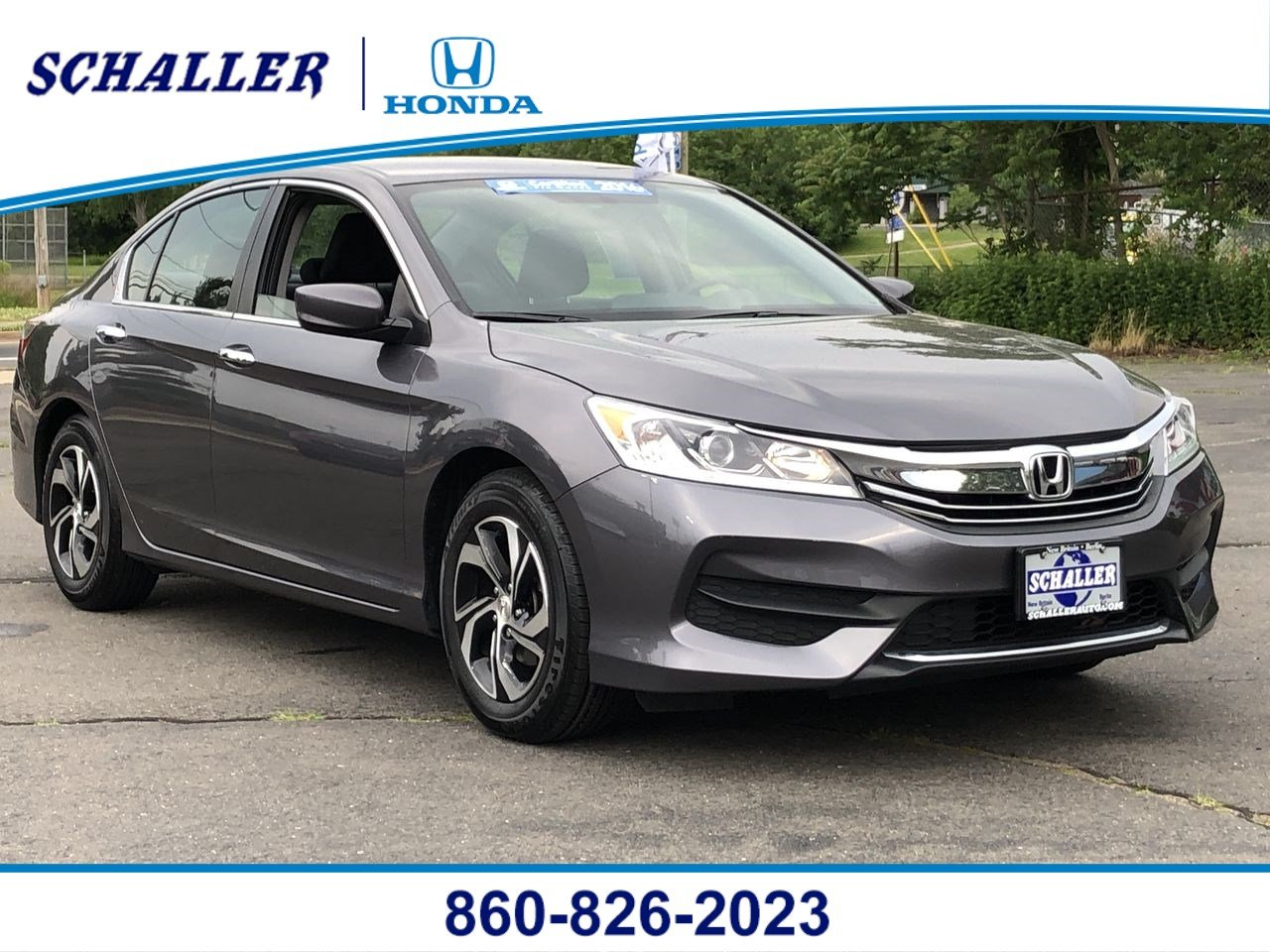 Pre Owned 2016 Honda Accord Lx 4dr Car In New Britain Hp19111 Schaller