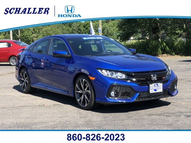 Honda Civic Si Used >> Certified Pre Owned 2018 Honda Civic Si Sedan Si 4dr Car In New